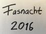 Fasnacht 2016